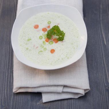 Suppe Foodaufnahme