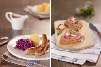 Foodfotografie Bratwurst Leberwurst