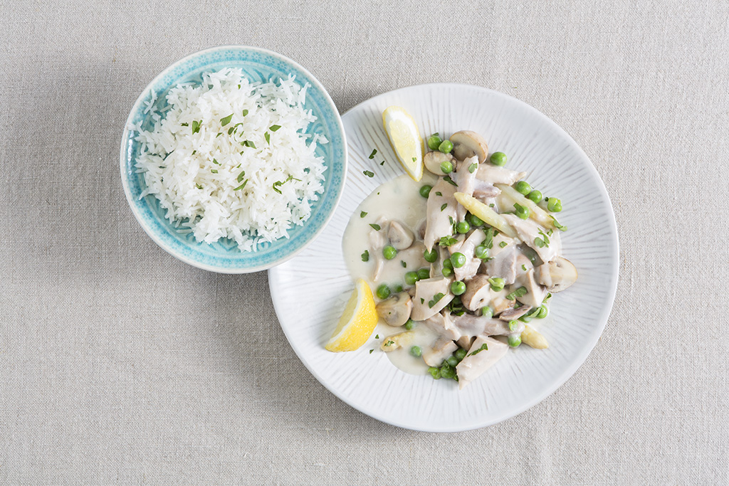 Rezept Hühnerfrikassee
