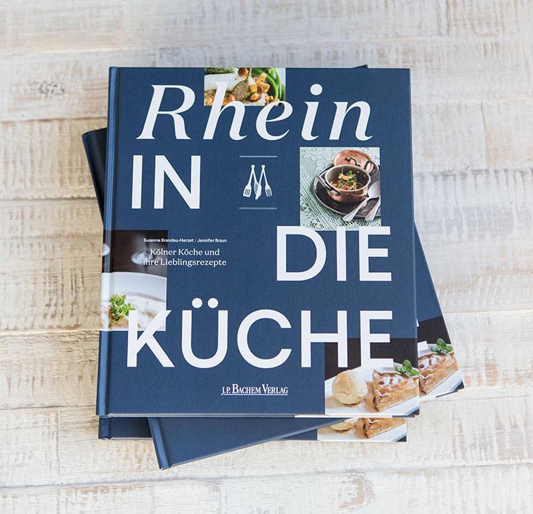 Kochbuch Rhein in die Küche