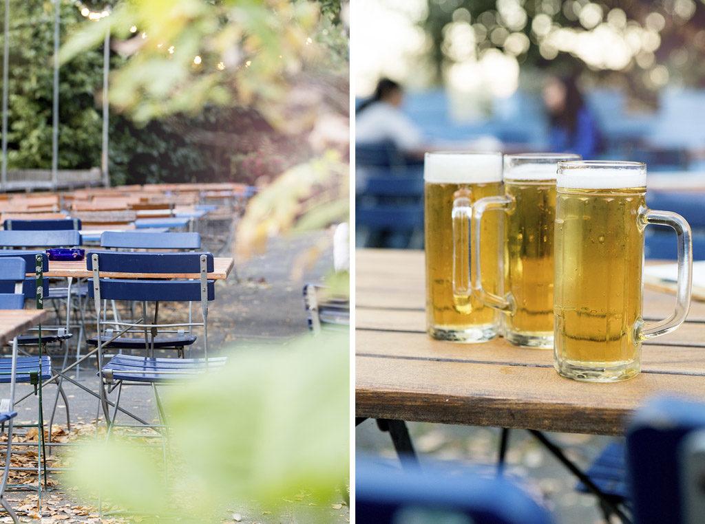 Biergarten Riehl, Sommer in der Stadt