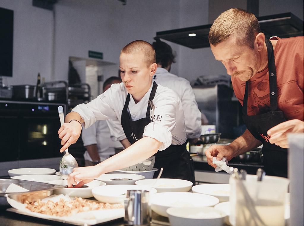 Kochen Küchenreportage