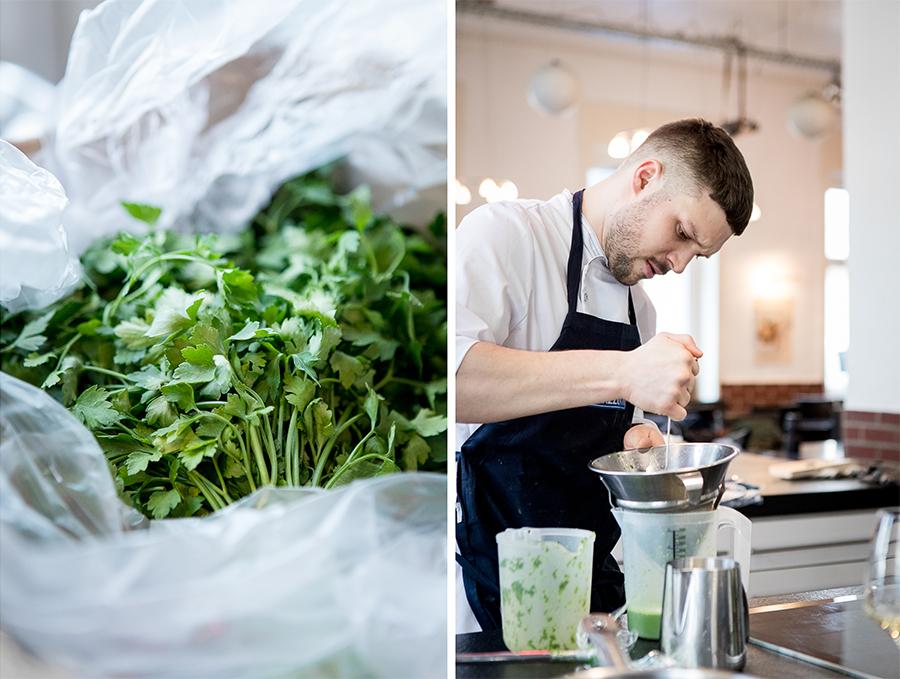 junger Koch aus Kölner Gastronomie