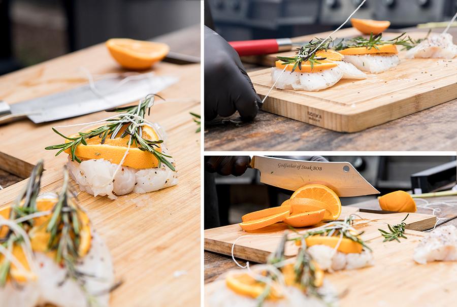 Grillrezept mit Fisch